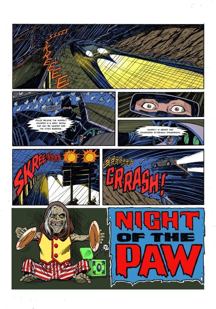 creepshow series Ron Frenz_Night of the Paw