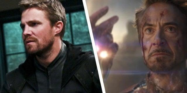 Arrow Star Stephen Amell Teases Oliver's Death With Avengers: Endgame Meme