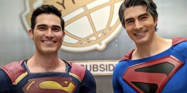 Crisis on Infinite Earths: Brandon Routh and Tyler Hoechlin Unite in New Superman Photo