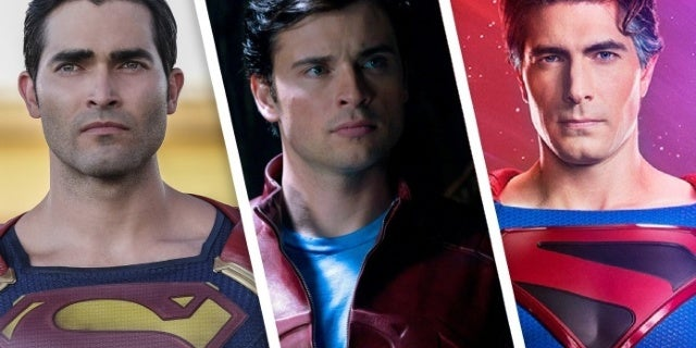 """""""Crisis on Infinite Earths"""" Fan Art Makes Us Want to See All the Supermen Actors Together"""