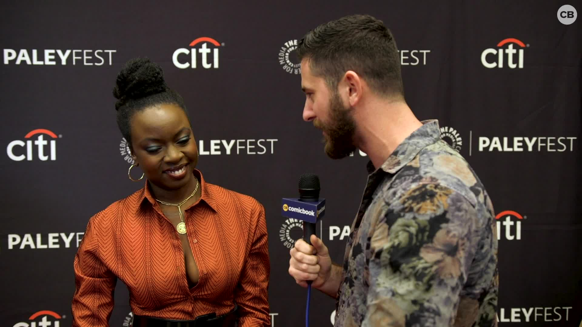 Danai Gurira - NYCC 2019 Exclusive Interview screen capture