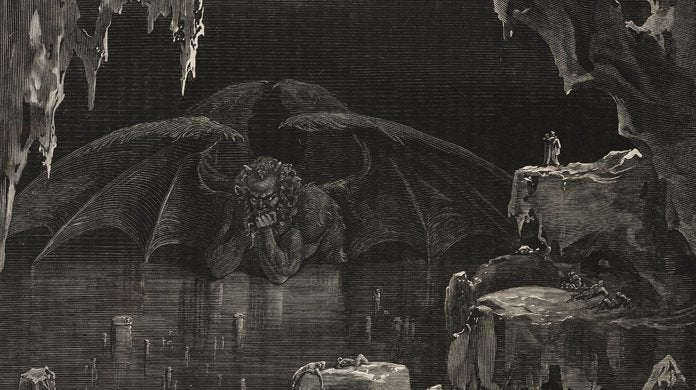 dante's inferno gustav dore lucifer