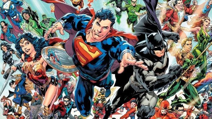 DC Comics New Timeline Batman Superman Wonder Woman