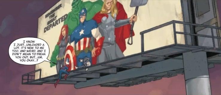 dead avengers jj abrams spider-man