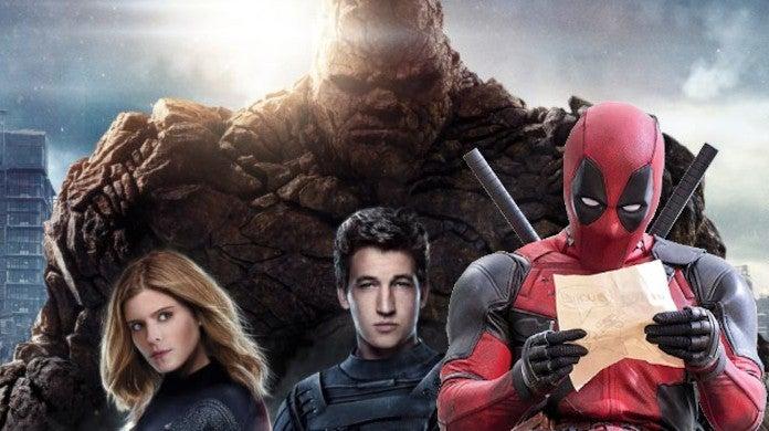Deadpool 2 Original Story Fantatic Four Crossover Vanessa Mutant Powers Tim Miller