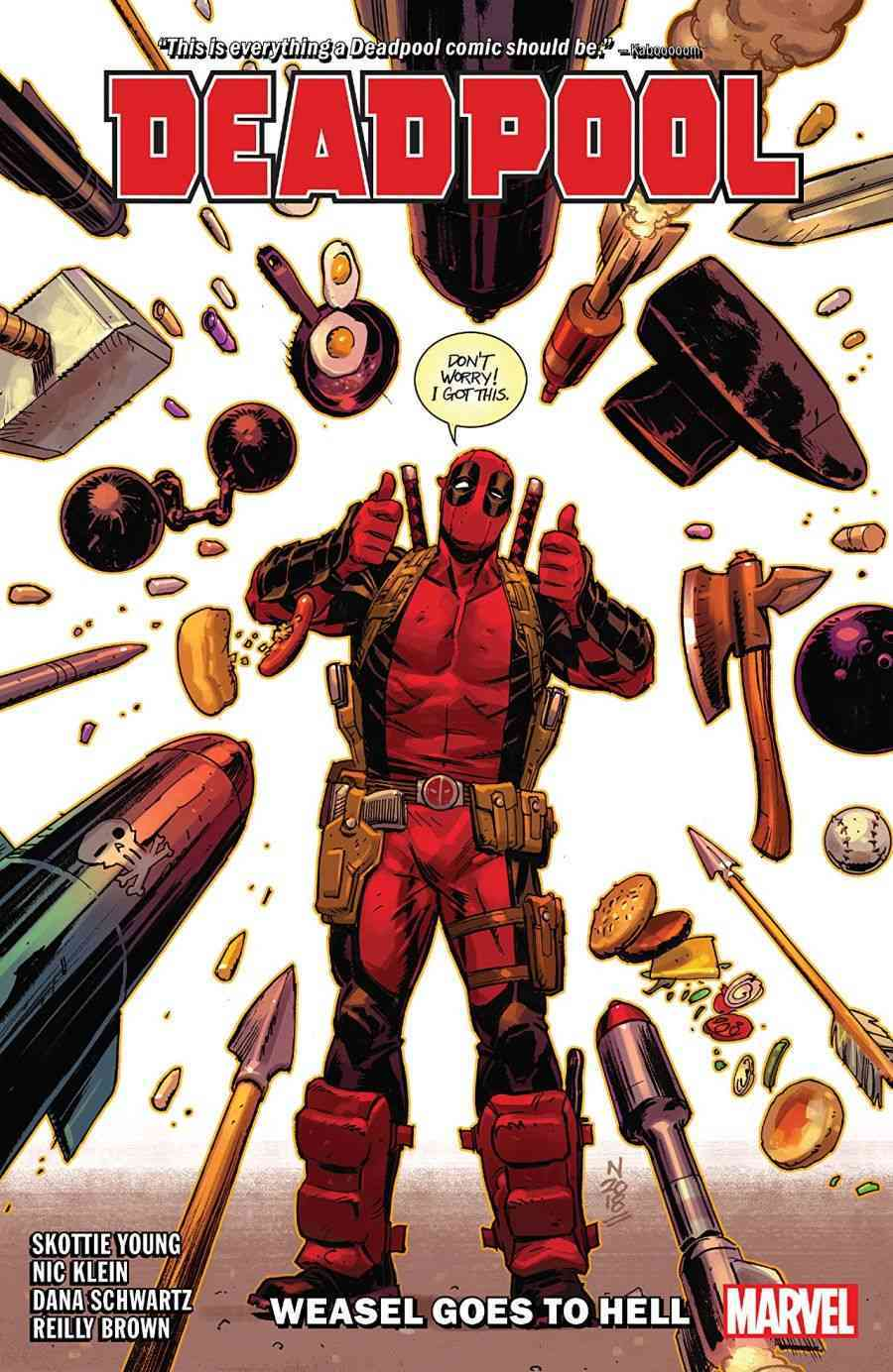 Deadpool by Skottie Young Vol 3 Weasel Goes to Hell