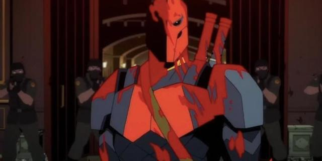 First Look at CW Seed's Michael Chiklis-Led Deathstroke: Knights & Dragons