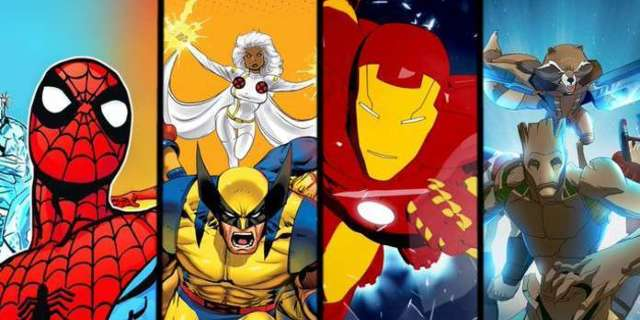 Every Marvel Cartoon Coming to Disney+ on Launch Day