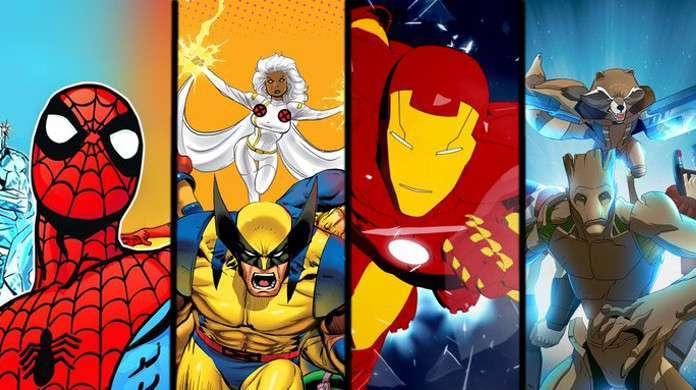 Disney+ Marvel Cartoons