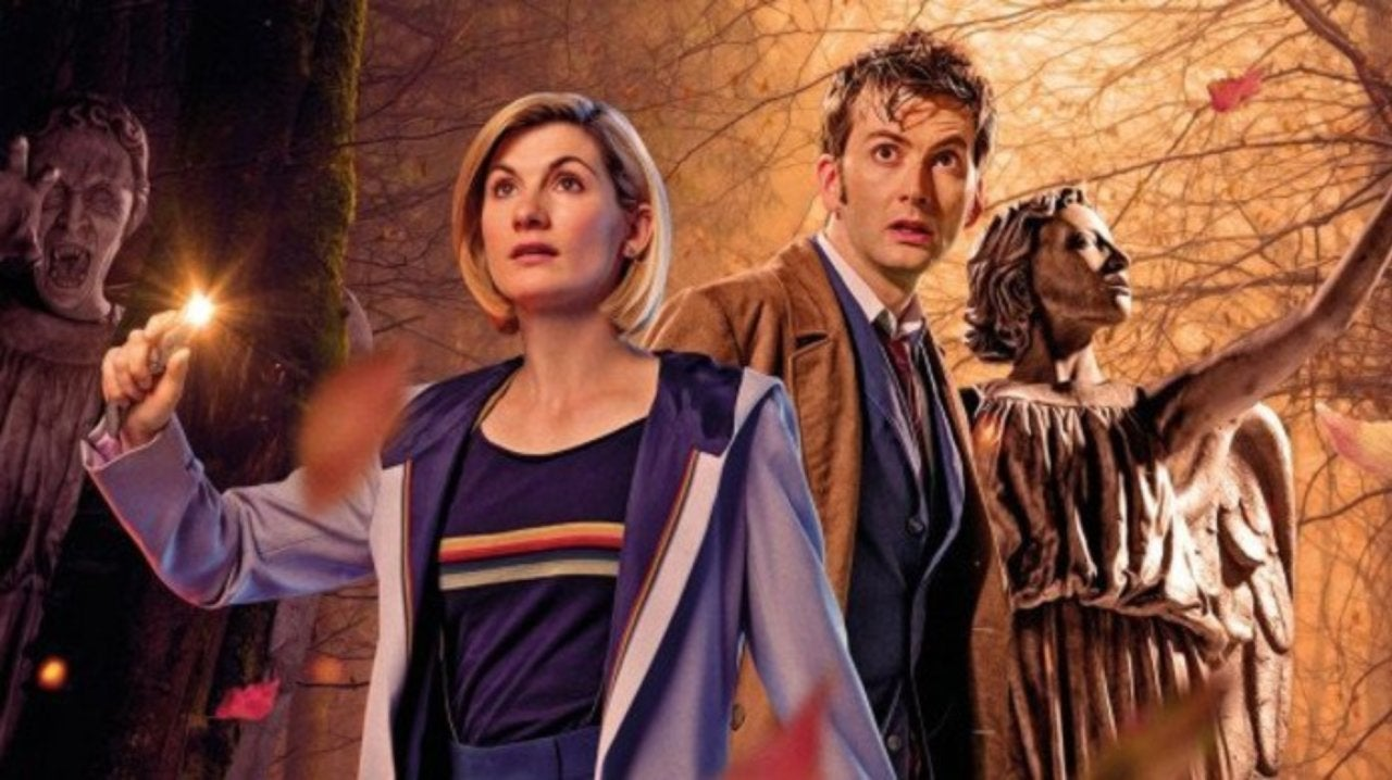 Doctor Who: First Look at Tenth Doctor and Thirteenth Doctor Crossover