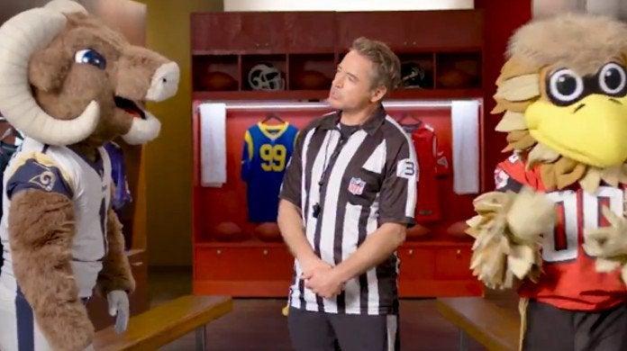 Dolittle Robert Downey Jr NFL