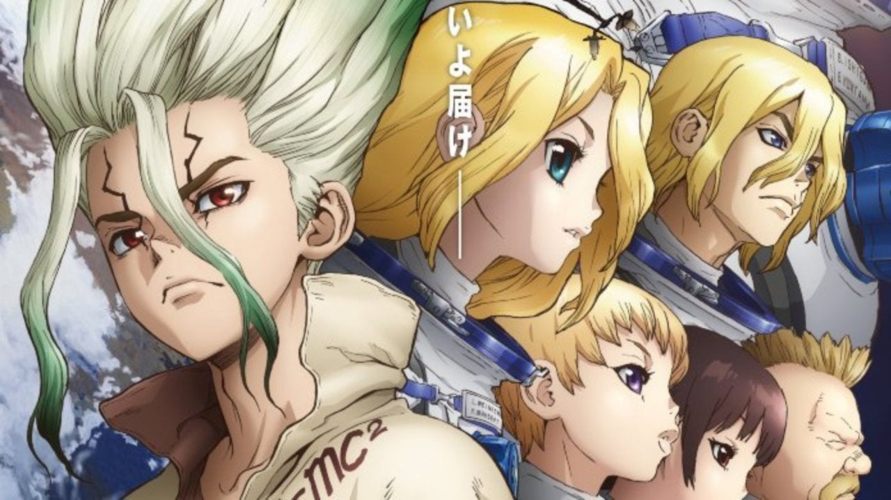 Dr. Stone Teases Next Arc with New Poster