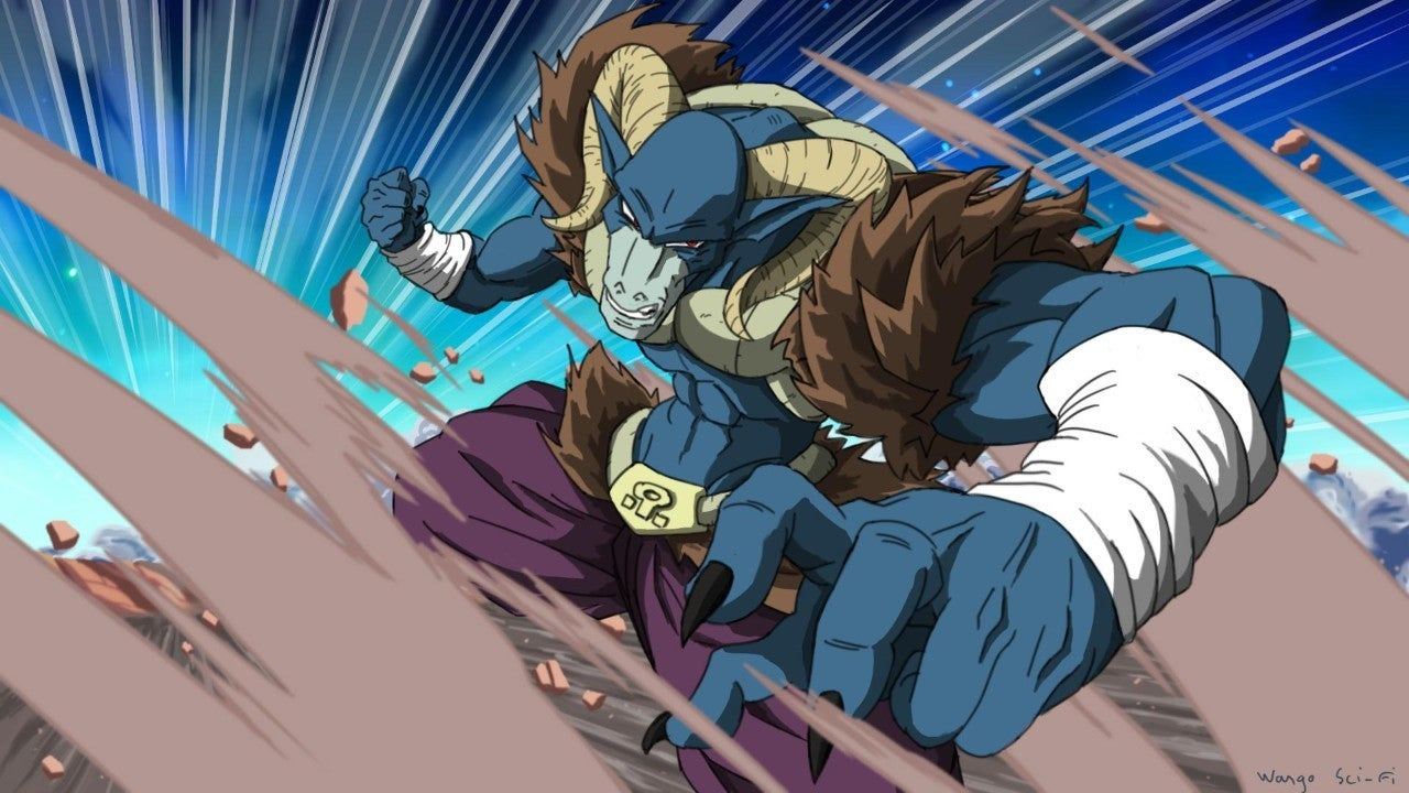 Dragon Ball FighterZ Moro Artwork
