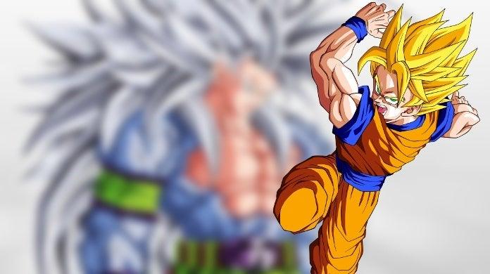 Dragon Ball Goku Super Saiyan 100 Artwork