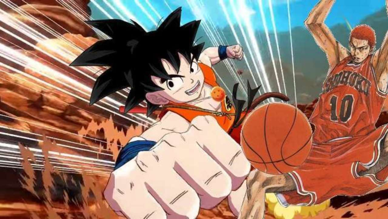 Dragon Ball's Goku Gets Makeover from Slam Dunk Creator