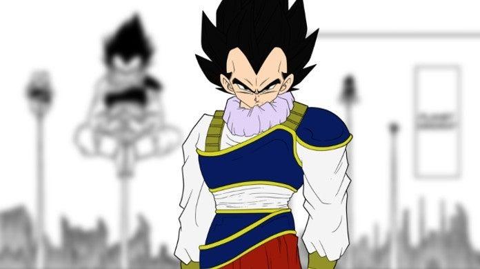 Dragon Ball Super Manga 53 Vegeta Yardrat Training Techniques Scene