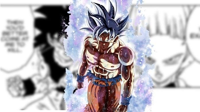 Dragon Ball Super Manga Chapter 53 Goku Life or death Training Merus Ultra Instinct return