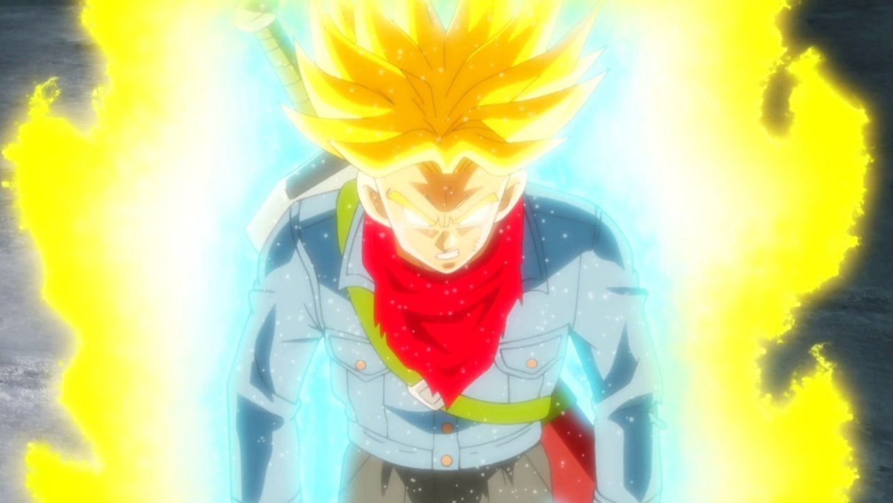 Super Saiyan Rage Trunks Gets Perfect Dragon Ball Z Makeover with New Artwork