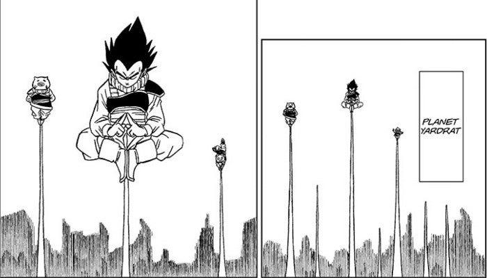 Dragon Ball Super Vegeta Spirit Control Training Yardrat