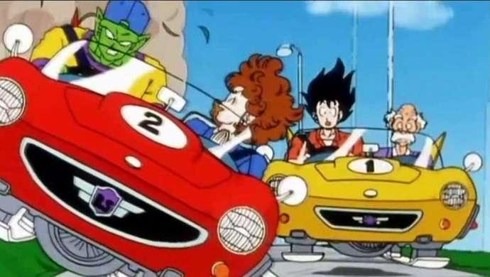 Dragon Ball Z Driving