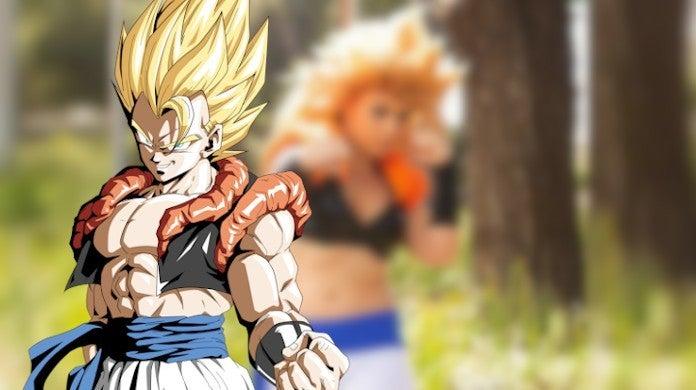 Dragon Ball Z Gogeta SSJ3 Genderbent Cosplay