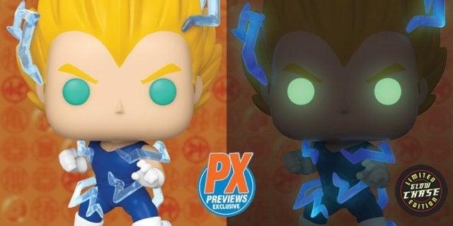 Funko's Dragon Ball Z Super Saiyan 2 Vegeta Previews Exclusive Pop Has Arrived