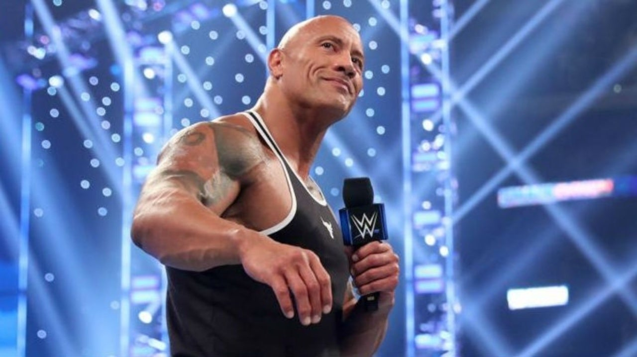 WWE's The Rock Reveals Wrestling Mount Rushmore