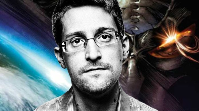Edward Snowden Denies Alien Cover-up US America Government