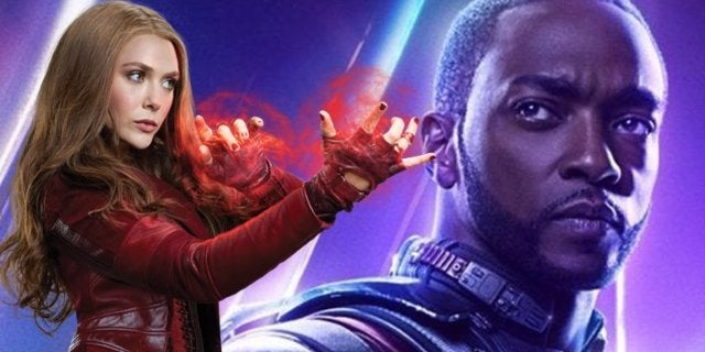 "Avengers Star Elizabeth Olsen Calls Anthony Mackie a ""Son of a B*tch"""