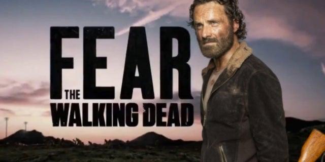 "Fear the Walking Dead Character Could ""Pop Up"" in Rick Grimes Walking Dead Movie"