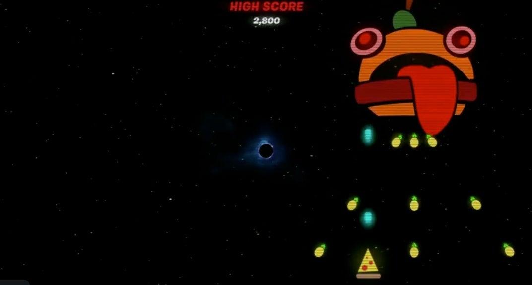 Fortnite Cheat Code Unlocks Black Hole Mini Game Video