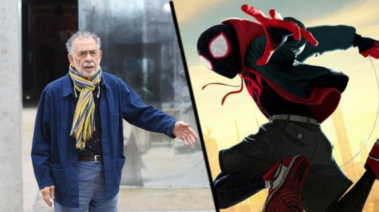 Spider-Man: Into the Spider-Verse Director Says Francis Ford Coppola Was Complimentary Toward the Film