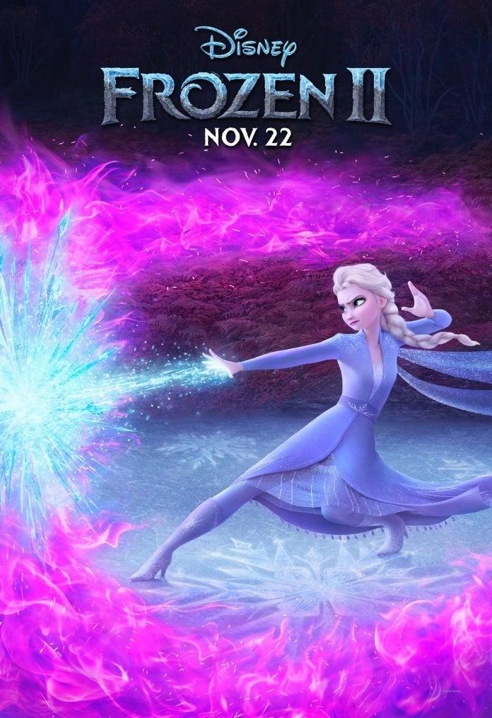 Frozen II Elsa poster