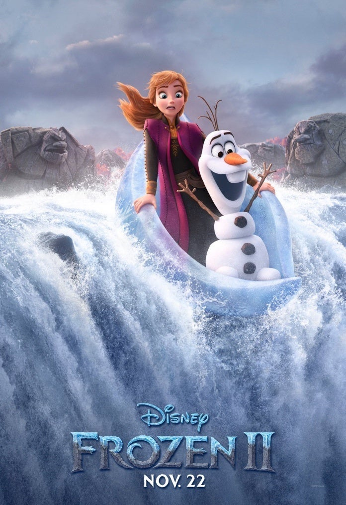 Poster Frozen II Anna Olaf