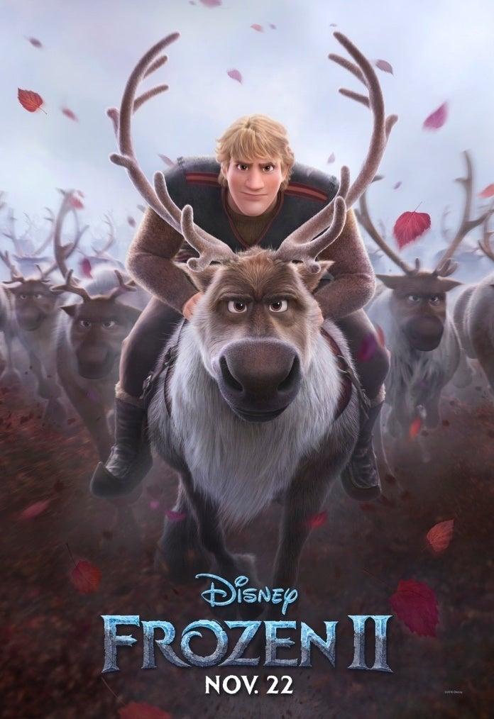 Frozen II poster Kristoff Sven
