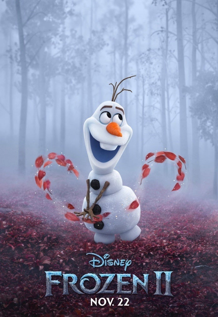 Frozen II poster Olaf