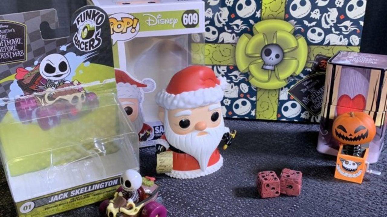 Nightmare Before Christmas Mystery Box 2020 Fan Expo Funko's Disney Treasures The Nightmare Before Christmas Pop Box