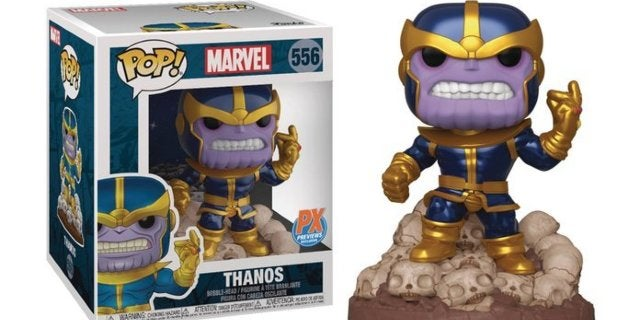 Funko's Marvel Thanos Snap Previews Exclusive Pop Figure Arrives With a Variant Comic