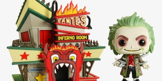 Funko's Beetlejuice With Dante's Inferno Room Pop Town Set is Live