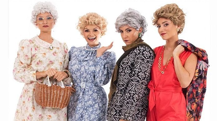 golden girls halloween costumes target