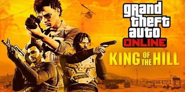 Grand Theft Auto Online Now Has a King of the Hill Mode