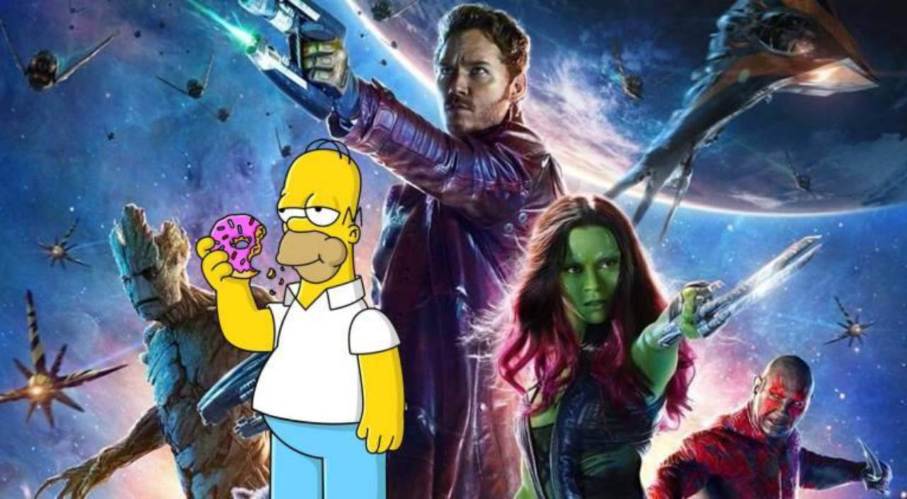 Guardians of the Galaxy Vol. 2 May Have Had a the Simpsons Easter Egg
