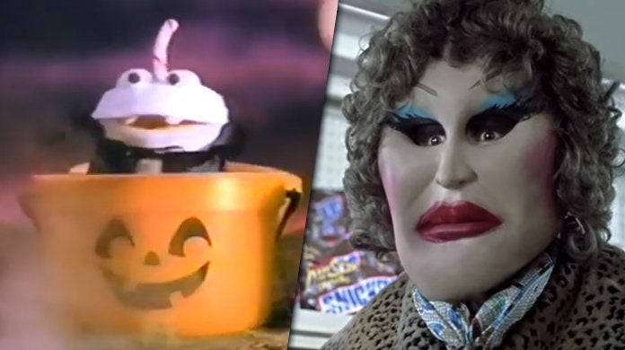 halloween commercials best mcdonald's snickers