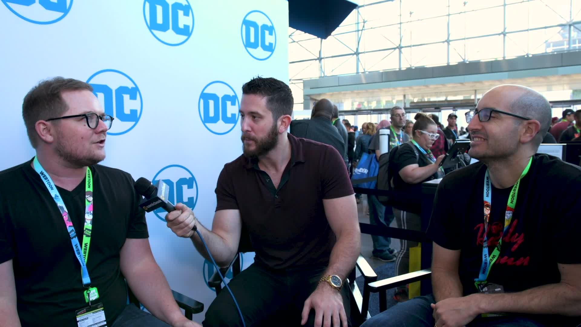 Harley Quinn Creators - NYCC 2019 Exclusive Interview screen capture