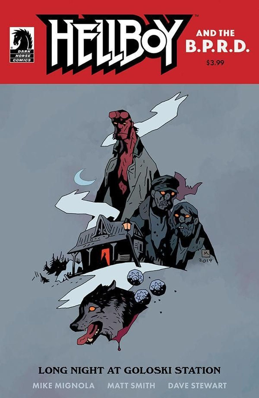 Hellboy and the BPRD Long Night at Goloski Station