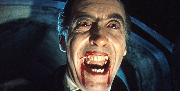 horror of dracula christopher lee