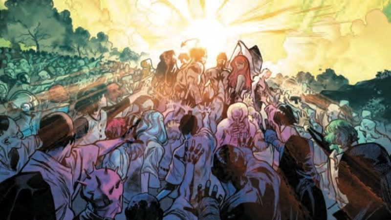 House of X 5 X-Men Resurrectd Mutant and Proud
