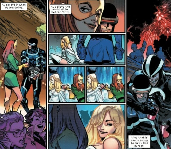House of X 6 Scott Jean Wolverine Emma Frost Polyamorous Relationship
