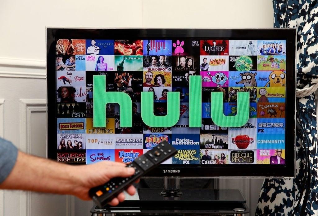 hulu tv screen