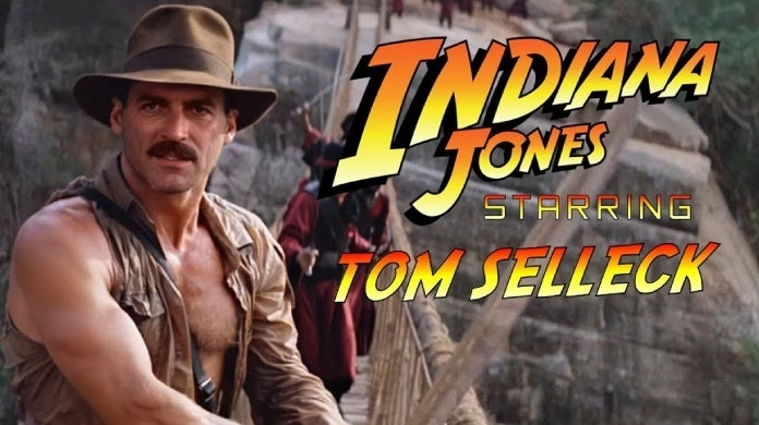indiana jones tom selleck deepfake